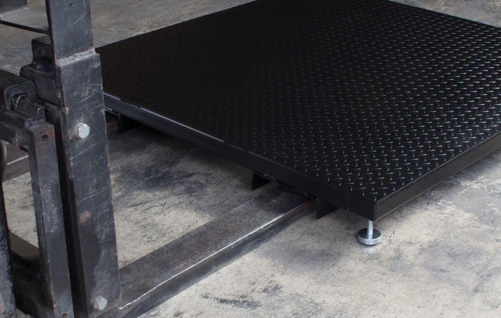 6600 Series Floor Platform Scales Forklift Skids