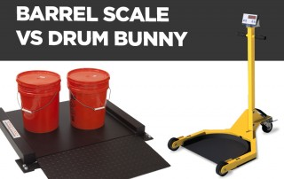 barrel scale drum bunny difference pa scale