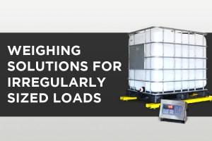 pa scale u6600 weighing irregular loads